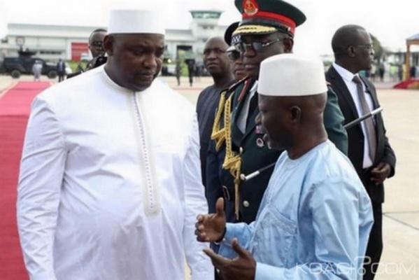 Gambie : Barrow limoge son Vice-président et 3 de ses ministres