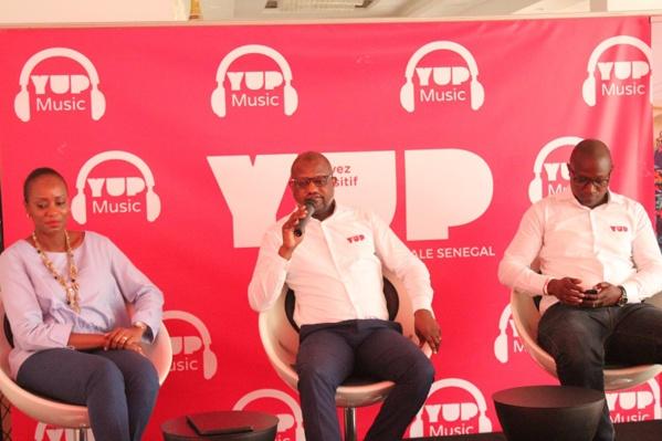 """Les images du lancement de l'application """"YUP Music"""""""