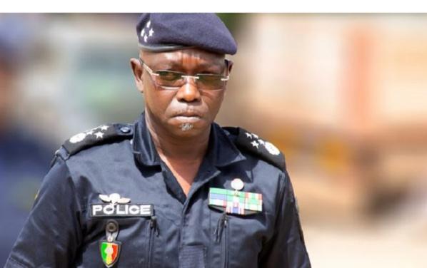 """Affaire commissaire Sangharé: Le patron de la police appelle à la """" retenue  et à la sérénité"""""""
