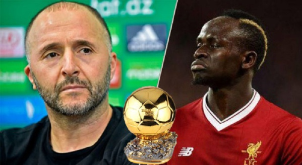 Ballon d'or Sadio Mané: Belmadi conteste et tire sur la CAF