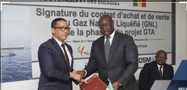 La Mauritanie et le Sénégal signent la première phase d'exploitation du gaz (GNL)