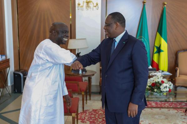 Idrissa Seck a rencontré Macky Sall au Palais