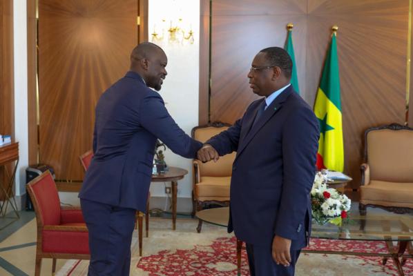 Présidence de la république: Ousmane Sonko reçu par Macky Sall