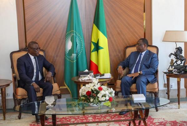 Abdoulaye Baldé reçu à la Présidence de la République