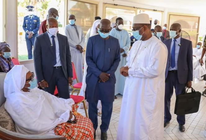 Condoléances: Macky Sall chez feu Babacar Touré
