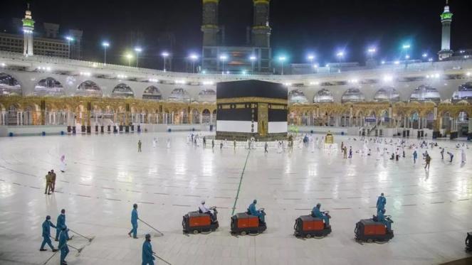 A la Mecque, un pèlerinage fortement réduit pour raison sanitaire
