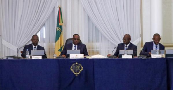 Le communiqué du conseil des ministres du mercredi 29 juillet 2020