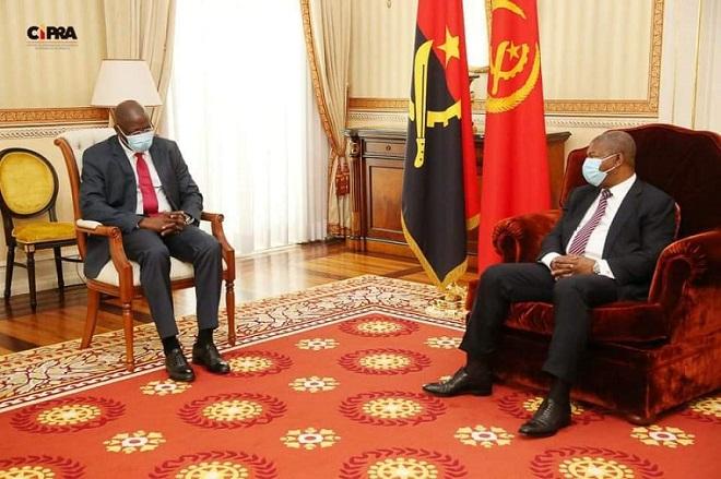 Le président Angolais reçoit le chef de l'opposition Bissau Guinéenne