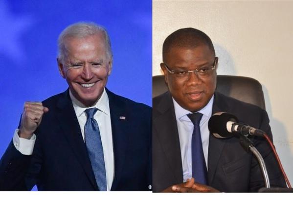 Présidentielle aux USA: Le parti de Baldé félicite le centriste Joe Biden