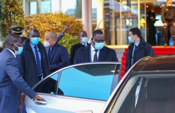 Forum sur la Paix: Le président Macky Sall est arrivé à Paris