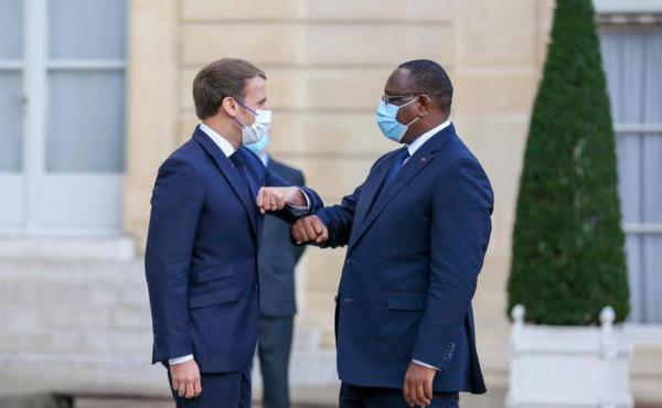 Macky Sall rencontre Macron dans son Palais
