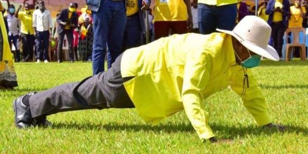 Ouganda : Le Président de la république montre son « endurance »