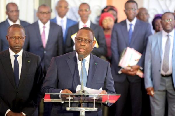 Remaniement ministériel : Macky s'explique devant les ministres limogés