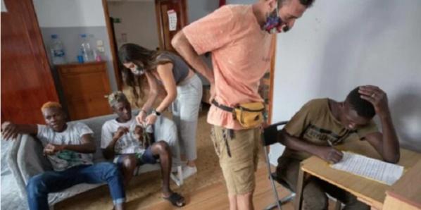 La difficile vie des migrants sénégalais aux îles Canaries