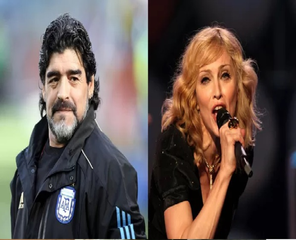 """La confusion règne sur Twitter après la mort de Maradona: """"Madonna est morte?"""""""
