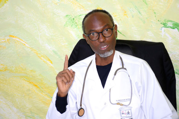 Professeur Moussa Seydi, Homme de l'année 2020