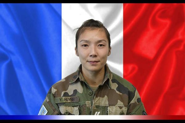 Sergent Yvonne Huynh, première femme de l'armée française tuée au Sahel