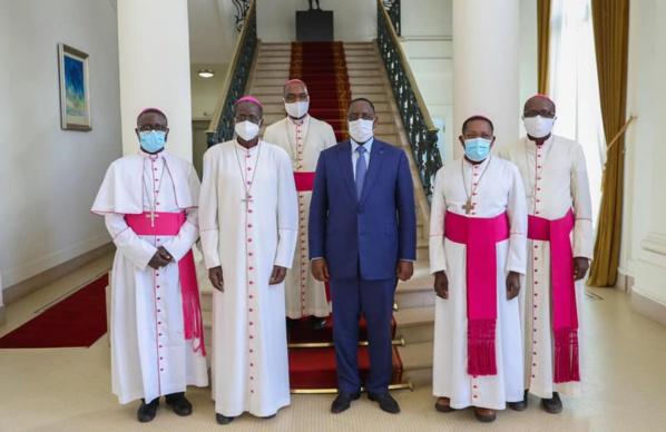 Lutte contre la covid19 : Les évoques du Sénégal ont échangé avec Macky