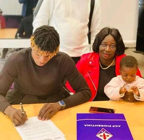 Transfert : Le jeune international sénégalais Fallou Sène signe à la Fiorentina
