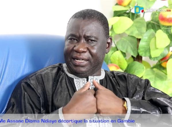 Décès de Me Khassimou Touré. : Le témoignage de Me Assane Dioma Ndiaye
