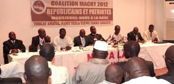 Coalition Macky 2012 : Le renouvellement du bureau reporté jusqu'à nouvel ordre