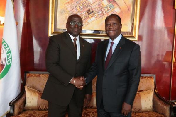 CAF: Ouattara mobilise 10 milliards de FCFA pour son candidat Jacques Anouma