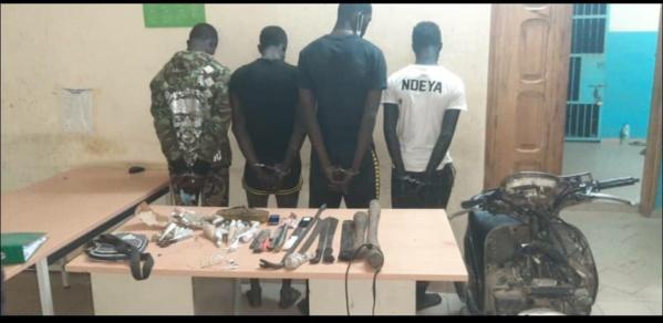 Keur Massar : La gendarmerie neutralise une bande armée