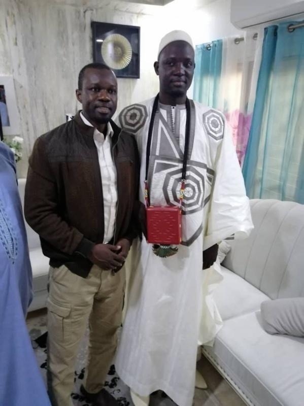 """Serigne Modou Bousso DIENG chez SONKO : On veut nous faire croire qu'il y a une justice au Sénégal..."""""""