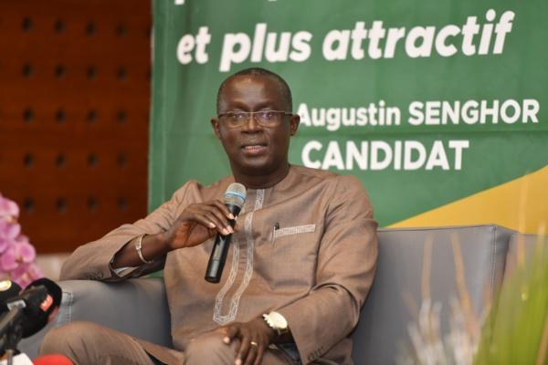 Presidence CAF : Augustin Senghor aurait accepté le poste de 1er vice président