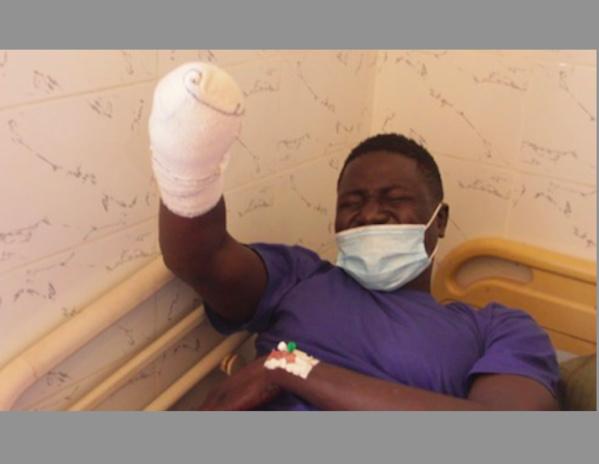 Reprise des arrestations : Malgré l'amputation de son bas, Cheikh Diouf arrêté par la DIC