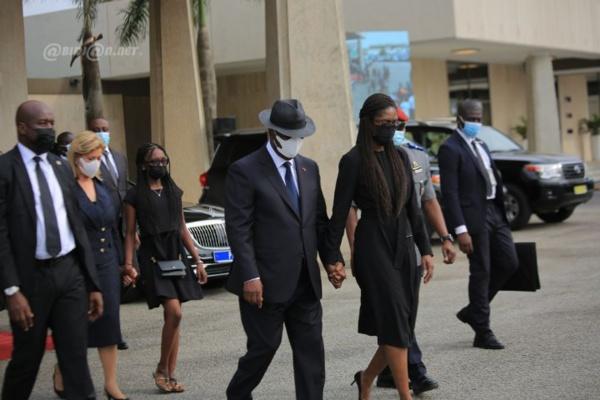 Côte d'Ivoire : Arrivée de la dépouille  du Premier ministre Hamed Bakayoko à Abidjan