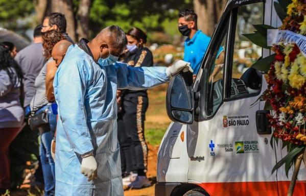 Hécatombe au Brésil : Plus de 2.800 décès liés à la Covid-19