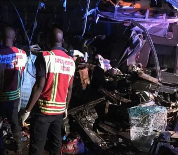 Cote Ivoire : 29 morts dans un accident de la route