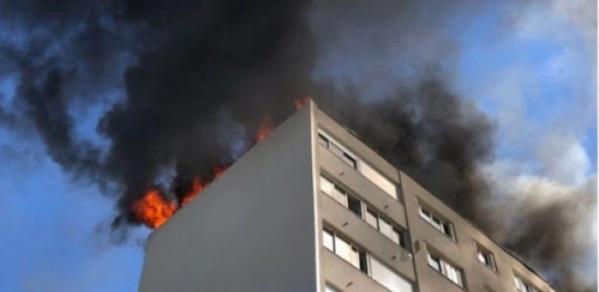 Diamniadio : Le siège de Promovilles en flammes