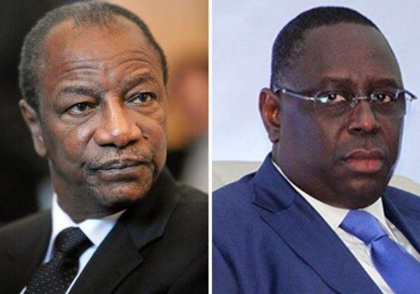 """Fête de l'indépendance: : Alpha Condé adresse un """"message"""" à Macky Sall"""