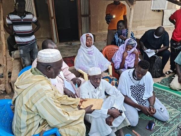 Emeutes : Le Hizbut-Tarqiyyah rencontre les familles des victimes de Bignona