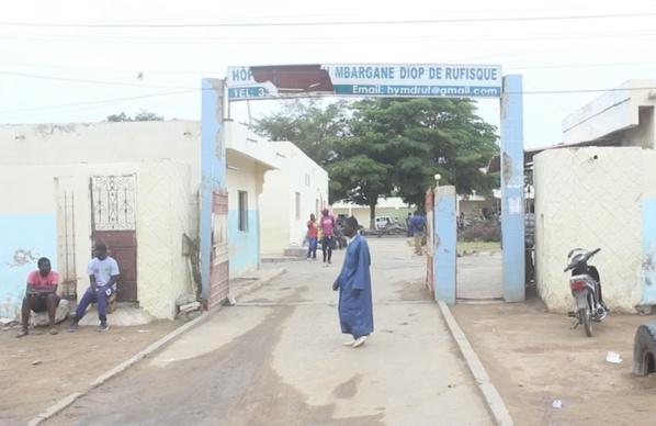 Youssou Mbargane Diop, un hôpital  d'une indignité notoire