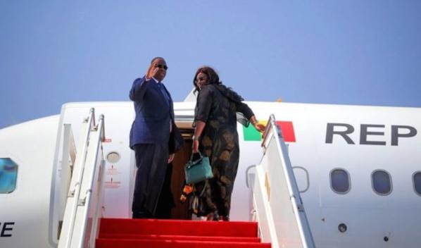 Macky Sall sans avion avion de commandement depuis un an
