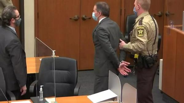 L'ancien policier Derek Chauvin jugé coupable du «meurtre» de George Floyd