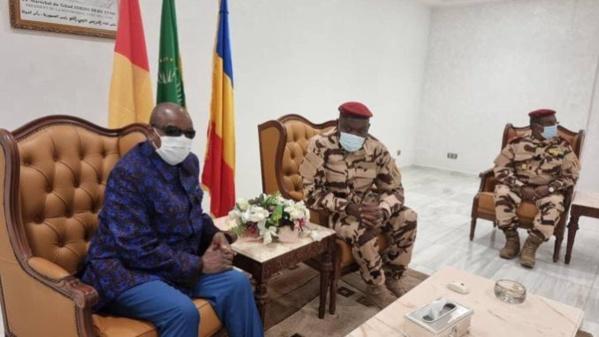 Tchad : Alpha Condé devance tout le monde à N'Djamena