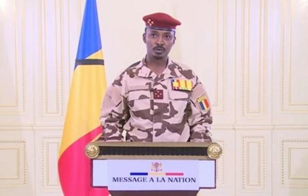 Tchad : premier discours à la Nation du jeune Deby
