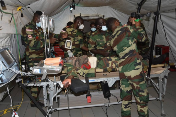 Sénégal: L'armée teste son nouveau matériel médical