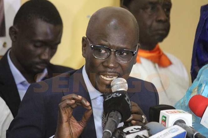 Seydou Gueye : « Au regard de ces postures serpentes, cette opposition s'est discréditée »