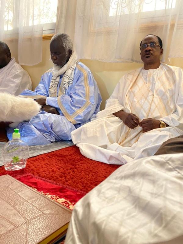 Dernier vendredi du mois de Ramadan à Touba : Madické Niang toujours auprès du Khalif général des mourides