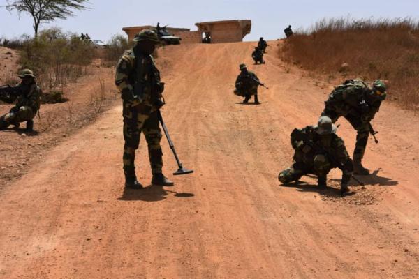 Boutoupa-Camaracounda : L'armée pilonne une colonne de rebelles, plusieurs morts