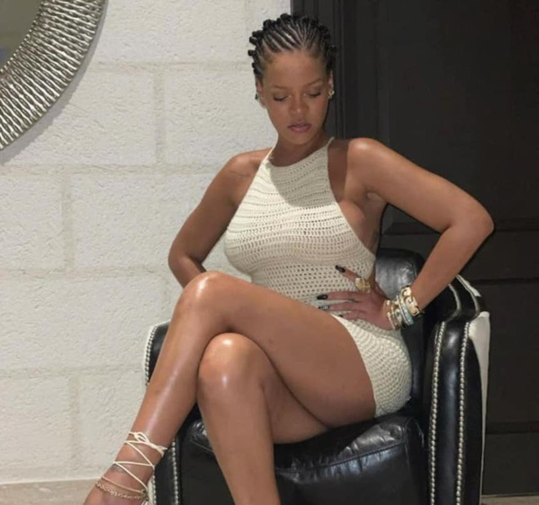 Rihana dévoile la marque de son huile corporelle hydratante