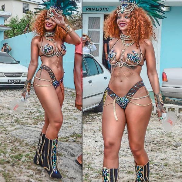 """Les plus """"chaudes"""" Photos de Rihanna"""