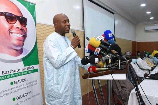 Mairie de Dakar :  Barthélemy Dias annonce officiellement sa candidature