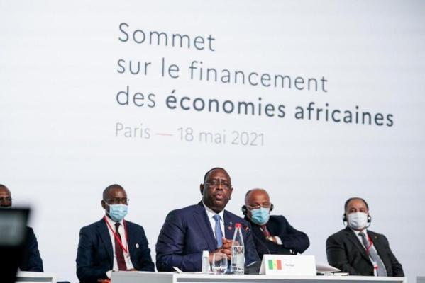 FINANCEMENT : Ce que Macky demande au G20