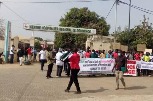 Marche à Ziguinchor pour dénoncer la situation de l'hôpital régional